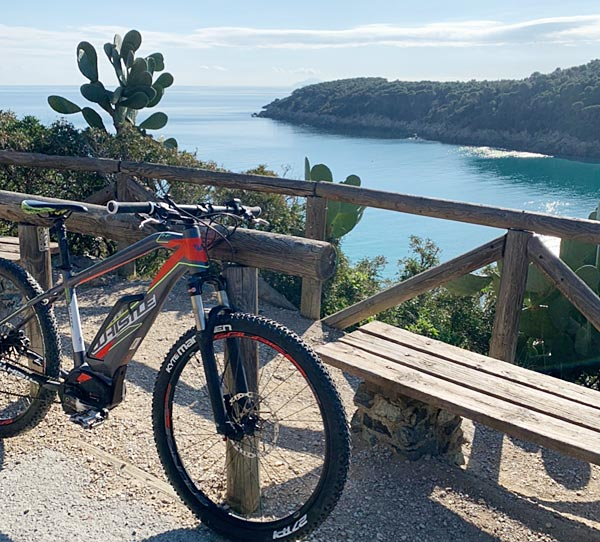 E-bike all'Elba